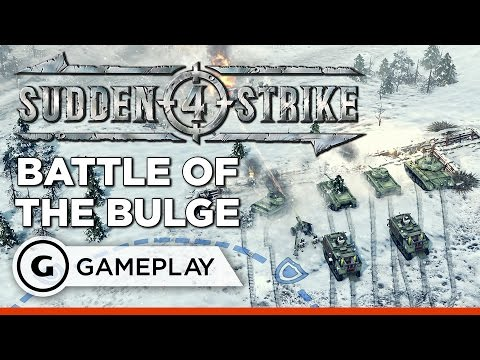 Gameplay de Sudden Strike 4
