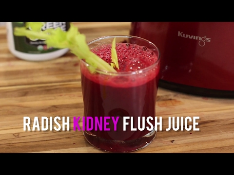 Video Radish Kidney Flush Juice
