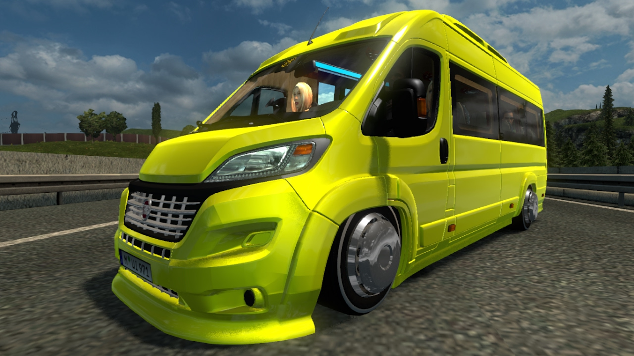 new fiat ducato maxi mod for ets 2. Black Bedroom Furniture Sets. Home Design Ideas