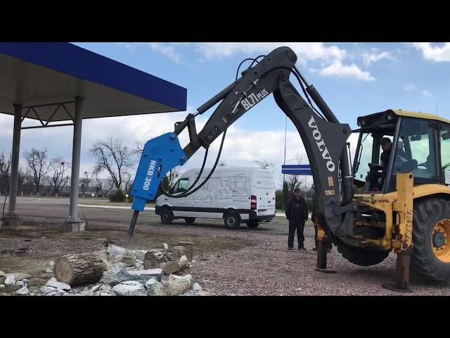 Видео1 Гидромолот NKB 300