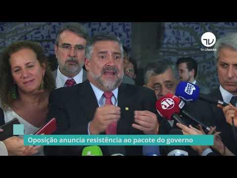 Oposição anuncia resistência ao pacote do governo - 06/11/19