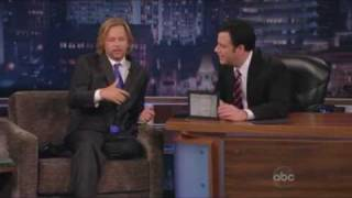 David Spade on Jimmy Kimmel Show