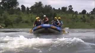 preview picture of video 'Nile River Rafting 2014 Jinja,Uganda'