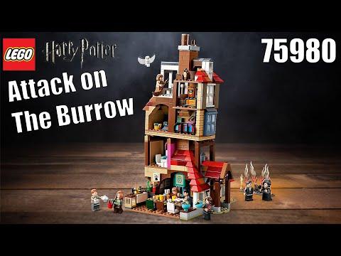 Vidéo LEGO Harry Potter 75980 : L'attaque du Terrier des Weasley