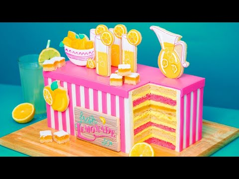 ULTIMATE Summer Lemonade Cake! | How To Cake It with Yolanda Gampp
