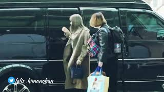 BLACKPINK - Jennie and Lisa moments at incheon airport heading to bangkok thailand
