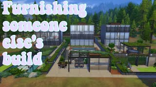 Furnishing A Build From The Sim Supply | Part One | [Sims 4 Build]