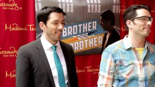 Must-see insane stunt with the Property Brothers causes fans to nearly pass out!