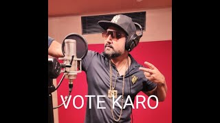 Vote Karo | Bihar Elections 2020 | Rapper Hiteshwar  IMAGES, GIF, ANIMATED GIF, WALLPAPER, STICKER FOR WHATSAPP & FACEBOOK