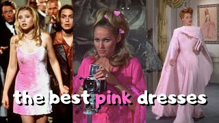 the best pink dresses in cinematic history 💕🌸🎀