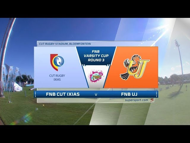 FNB Varsity Cup | CUT IXIAS vs UJ