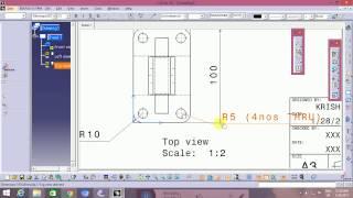 Catia V5 basic detailing