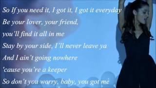 Ariana Grande feat. MacMiller - The Way (with Lyrics)