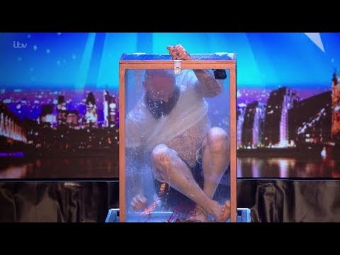 Matt Johnson: Most Dangerous ESCAPE Artist On The Verge Of DEATH! | Britain's Got Talent 2018 (видео)