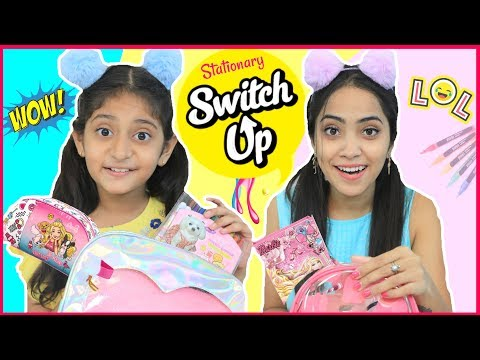 MYSTERY Box SWITCH-UP Challenge - Back To School | #Fun #Anaysa #MyMissAnand