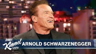 Arnold Schwarzenegger on Son-in-law Chris Pratt, Pranking Sylvester Stallone & Terminator's Return