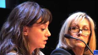 Cristina Rota, Juan Diego Botto y María Botto en Gutun Zuria