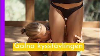 Deltagarna Kysser Varandra över Hela Kroppen I Love Island Championship I Love Island Sverige 2018
