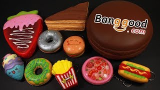 Small Banggood Squishy Haul and REVIEW! - Squishy Package #61