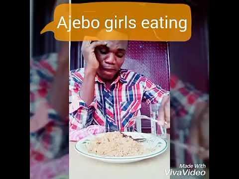 Ajebo girls vs kpako girls eating