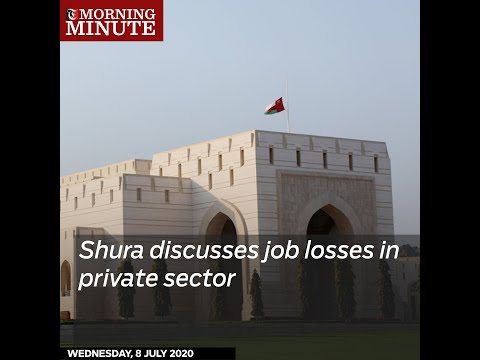 Shura discusses job losses in private sector