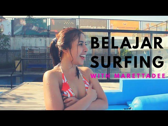 My #BUCKETLIST belajar SURFING with FLOW RIDING