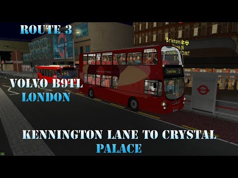 OMSI 2 | London, Route 3: Kennington to Crystal Palace | Mercedes