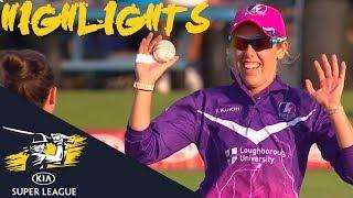 Sophie Devine Strikes For Lightning | Vipers v Lightning | Kia Super League 2018 - Highlights