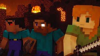 Darkside - Minecraft song animation | Darkside - Майнкрафт клип песня