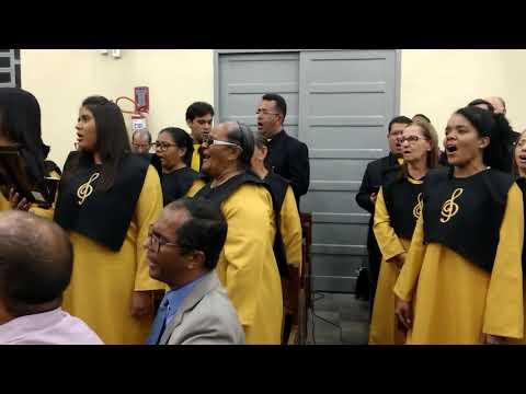 67 anos do Coral Getsêmani da Assembleia de Deus em Areias área oito Recife Pernambuco.