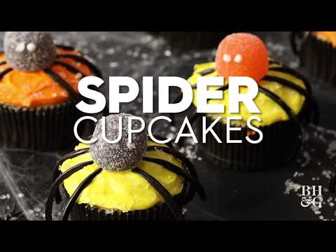 Spider Cupcakes | Fun With Food | Better Homes & Gardens