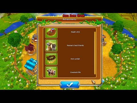 Farm Frenzy 4 Four Achievements Веселая ферма 4 Четыре достижения