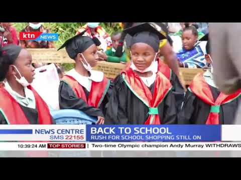 Rush for school shopping still on as schools reopen