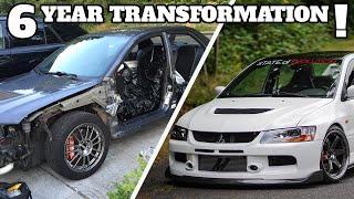 Amazing Sports Car Build Transformation!   Evo 9 SE