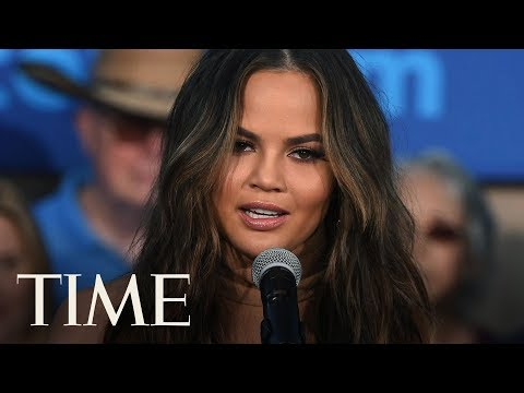 Chrissy Teigen And John Legend Have A Message And A Donation For Trump's Birthday | TIME