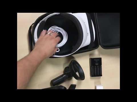 Best (ultra compact) Dell Visor VR headset case (link in description)