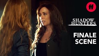 Shadowhunters Series Finale | Jocelyn Returns to Deliver a Warning | Freeform