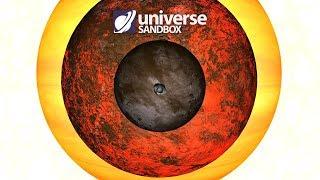 Making Mr Spock Asteroid A Star, Universe Sandbox ²