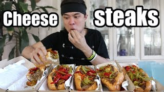5 Philly Cheesesteaks DESTROYED (8,700 Calories)