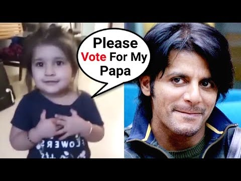 Bella Bohra Requesting To Vote For Her Daddy Karanvir Bohra In Bigg Boss 12