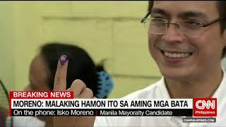Isko Moreno continues wide lead in Manila Mayoralty race in city COMELEC tally