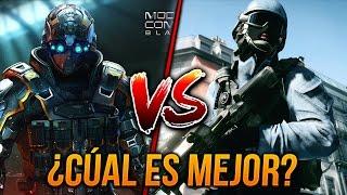 BULLET FORCE VS MODERN COMBAT 5 ¿CÚAL ES EL MEJOR