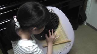ライアー竪琴:おじいさんの大きな柱時計