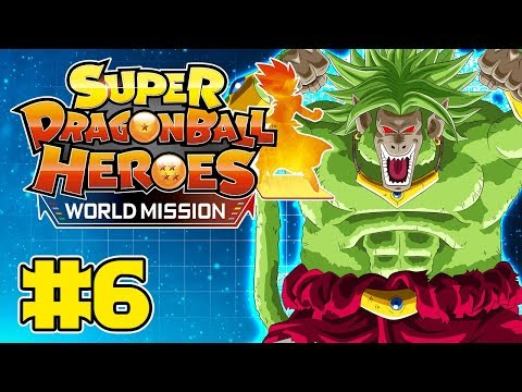 Super Dragon Ball Heroes: World Mission Part 6 - TFS Gaming