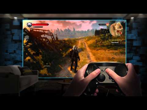Видео № 0 из игры Valve Steam Controller