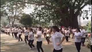 preview picture of video 'Nongbua Village Ladies Dance, Chiang Mai Thailand'
