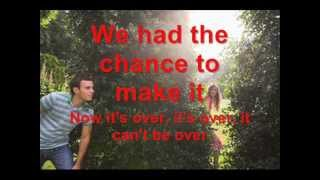 Its Not Over - Secondhand Serenade (Lyrics)