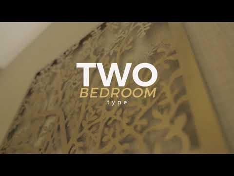 Show Unit Two Bedroom di apartemen Vasanta innopark