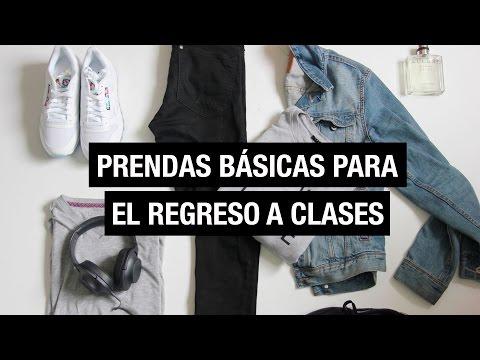 Prendas básicas para el regreso a clases