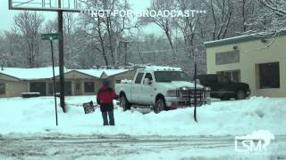 preview picture of video '1-24-15 Poughkeepsie, New York Snow Timelapse / Cleanup'